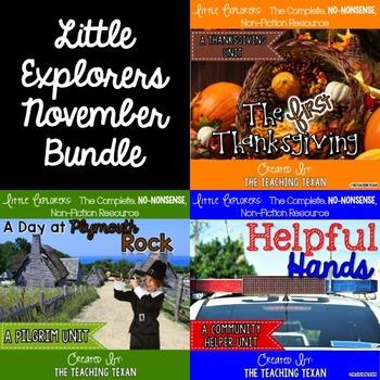 Little Explorers Non-Fiction November Bundle