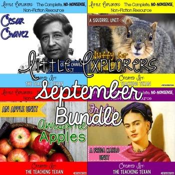 Little Explorers Non-Fiction September Bundle