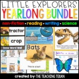Little Explorers Non-Fiction Yearlong Bundle