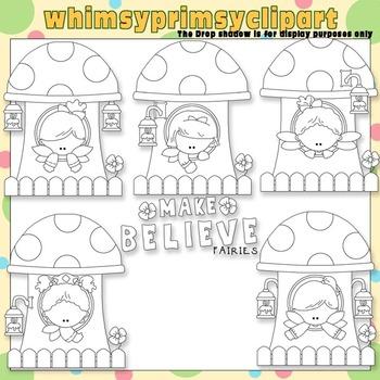 Little Fairy Houses 2 - Make Believe