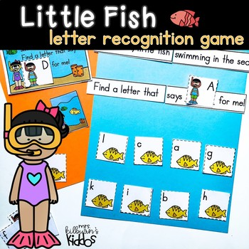 Little Fish Letter Recognition Game