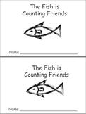 Little Fish is Counting Emergent Reader- Preschool-Kindergarten Ocean