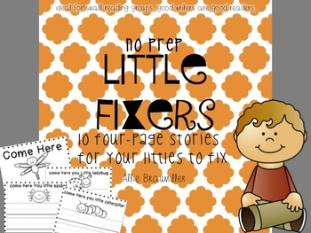 Little Fixers [10 four-page stories for your littles to fix]