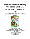 Little Flap Learns to Fly (Second Grade Reading Wonders Unit 1.1)