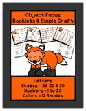 Little Fox - Basics - Booklets & Craft - Preschool Shapes Colors Letters +