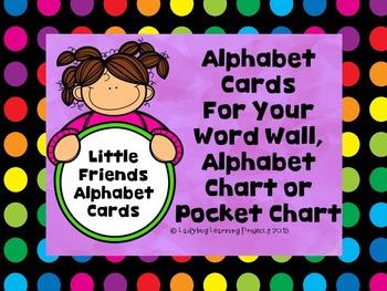 Little Friend's Black Dot Alphabet Chart