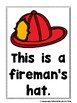 Little Friends Emergent Sight Word Firefighter Readers and Teacher Lap Books