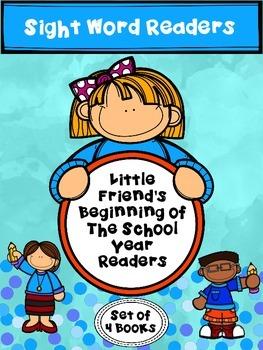"Little Friends ""School"" Emergent Sight Word Readers"