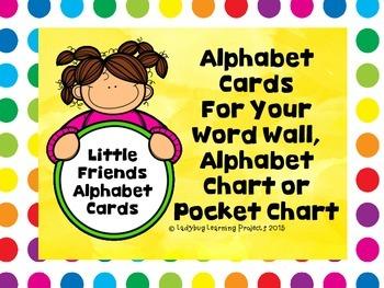 Little Friend's White Dot Alphabet Cards