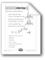 Little Frog ('-og' Word Family)