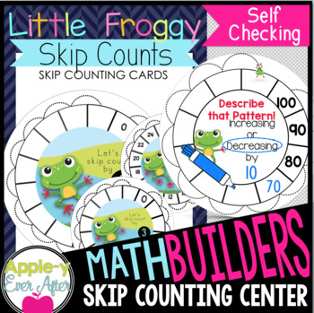 Little Froggy Skip Counts - Write n' Wipe Center & Recording Sheets!