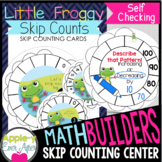 MATH BUILDERS: Little Froggy Skip Counts - Write n' Wipe SELF CHECKING Center
