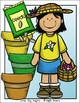 Little Gardeners Clip Art Set - Chirp Graphics
