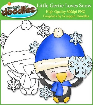 Little Gertie Loves Snow