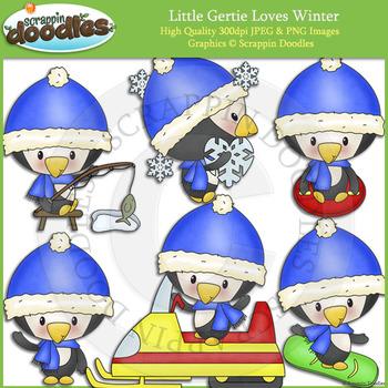 Little Gertie Loves Winter