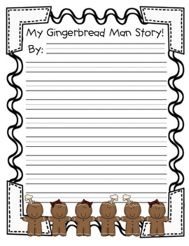 Little Gingerbread Man Disguise (A Home to School Project)