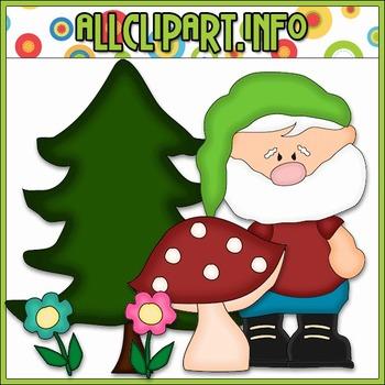 Little Gnome Cutting File & Clip Art - Cheryl Seslar Clip Art