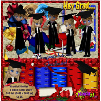 Little Graduates Themed Graphics