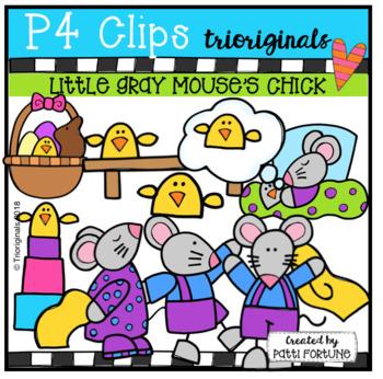Little Gray Mouse's Chick (P4 Clips Trioriginals)