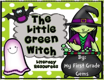 Little Green Witch Writing - Free!