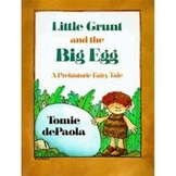 Little Grunt and the Big Egg, A reading lesson for Trophies