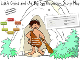 Little Grunt and the Big Egg Comprehension Activities
