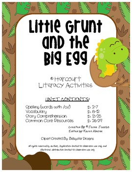 Little Grunt and the Big Egg (Supplemental Materials)