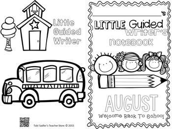 Little Guided Writers August/September