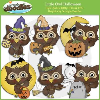 Little Halloween Owl