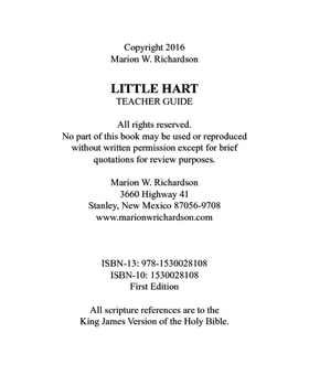 Little Hart Teacher Guide Christian Lesson Plan: places to seek The Lord