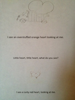 Little Heart, Little Heart, What do you see?