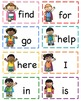 Little Hero's Pre-Primer Site Word Cards