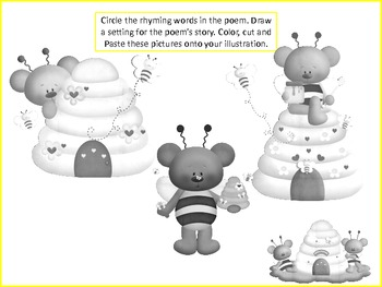 ESL Resource and Activity: Little Honey Bear Poem