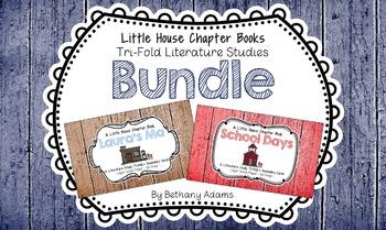 Little House Chapter Books Tri-fold Literature Study *~*Bundle*~*