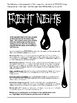Fright Night: Write An Article (And More) (9-13 years)