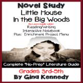 Little House in the Big Woods Novel Study & Enrichment Project Menu