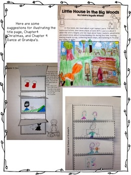 Little House in the Big Woods Reading and Writing Interactive Journal