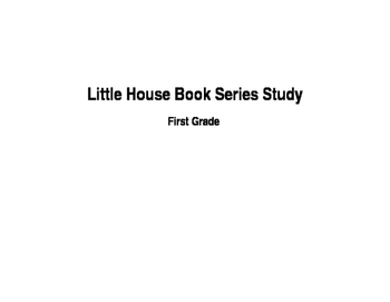 Little House on the Prairie Integrated Unit