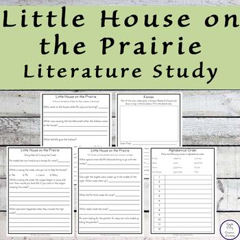 Little House on the Prairie {Laura Ingalls Wilder} Literature Study