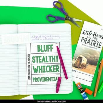 Little House on the Prairie Foldable Novel Study Unit