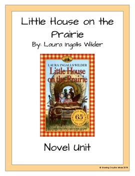 Little House on the Prairie Novel Unit - PREVIEW