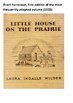 Little House on the Prairie Word Search