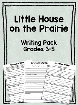 Little House on the Prairie Writing