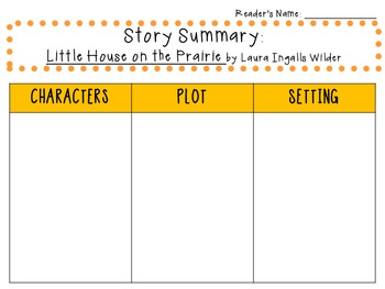 Little House on the Prairie by Laura Ingalls Wilder: Characters, Plot, Setting