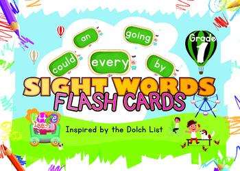 Little Iggy's Grade 1 Sight Words Flash Cards