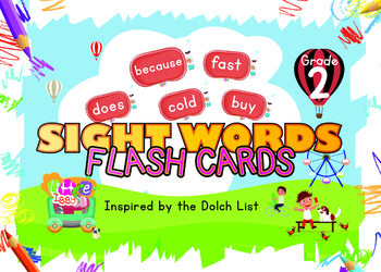 Little Iggy's Grade 2 Sight Words Flash Cards
