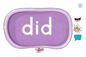 Little Iggy's Level K Sight Words Flash Cards