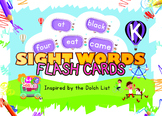 Little Iggy's Level K Sight Words Flash Cards