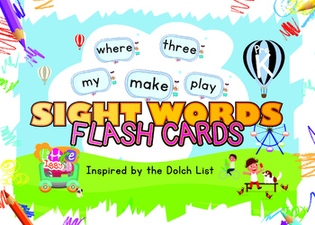 Little Iggy's Pre-K Sight Words Flash Cards