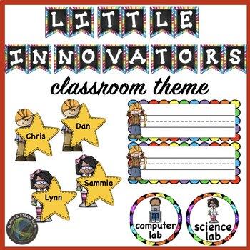 STEM Little Innovators Classroom Decor